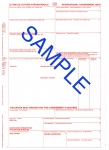 CMR International Consignment Note pads